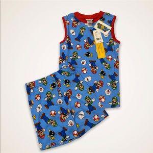 NWT Supermario pajama Set